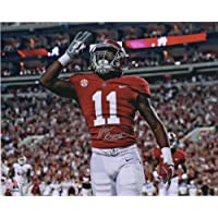 "$71 » Henry Ruggs Alabama Crimson Tide Autographed 16"" x 20"" 3 to The Sky Photograph - Fanatics Authentic Certified"
