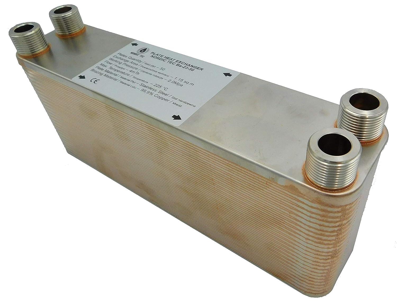 SCAMBIATORE di calore a piastre NORDIC TEC Ba-23-40 3//4 165kW