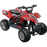 Kid Motorz 6V Quad Racer Ride On, Red