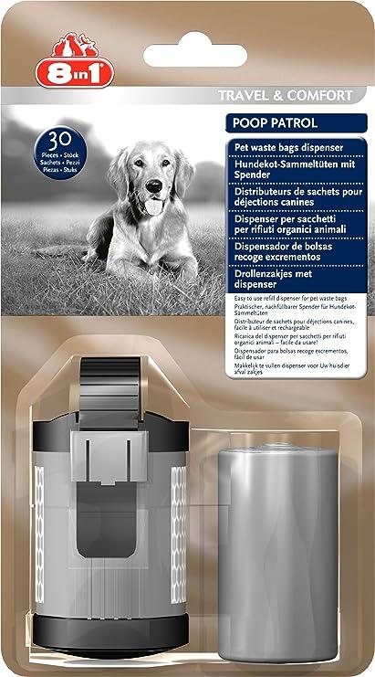 8in1 poop Patrol Dispenser & Samme Party Bags (dog Poo Bags Handy Dispenser)