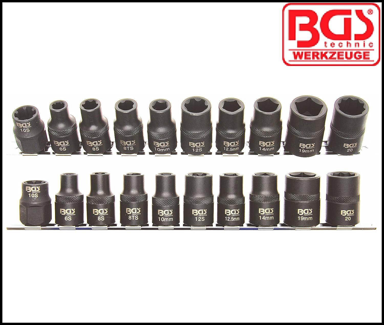 Specialist Socket Set 3 BGS 6 and 10 Point Nissan Honda 2560 5 Smart.- Pro Range