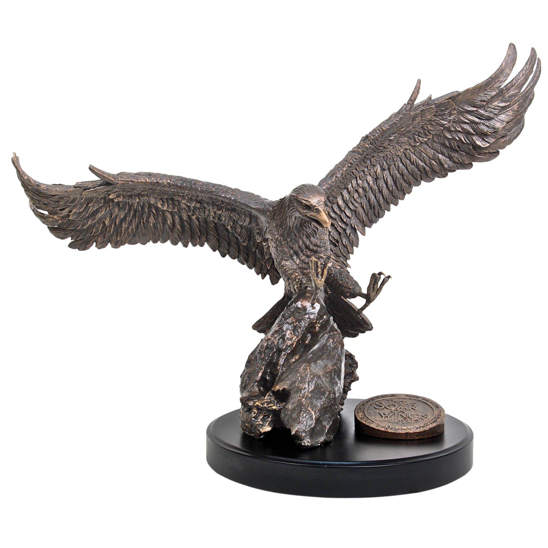 Lighthouse Christian Products Moments of Faith XL Eagle Sculpture, 21 1/2 x 15'' by Lighthouse Christian Products