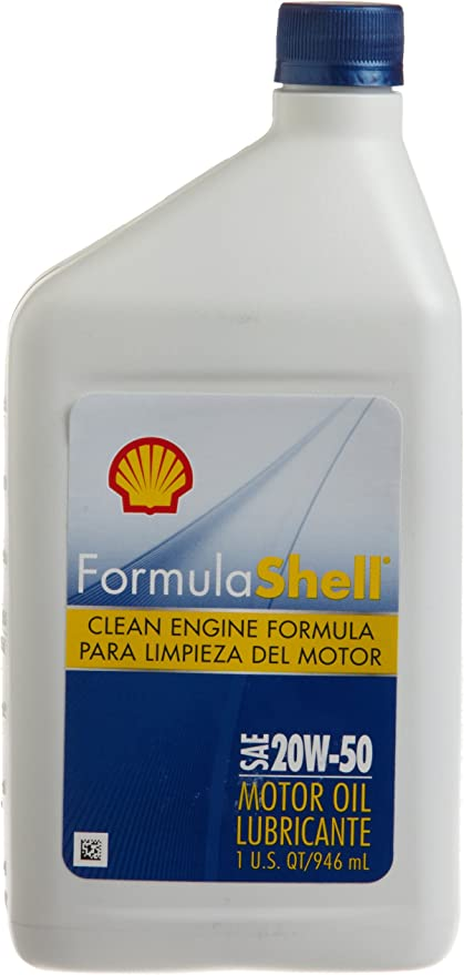 Amazon.com: formulashell 550024067 SAE 20 W-50 Motor Oil – 1 ...