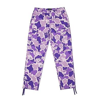 Violetcamouflage S Jeans Violet Homme Rip'n'dip fmY76gIbyv