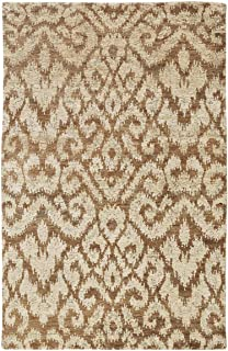 product image for Capel Tucker Gold 9' x 12' Rectangle Hand Knotted Rug