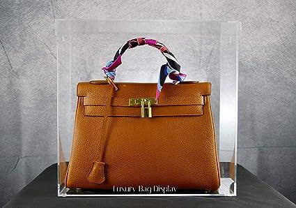 aa10798d33326 Amazon.com  Luxury Bag Display Case Model K Large Designed for ...