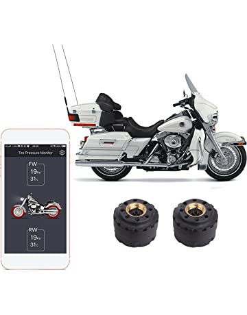 SYKIK Rider Wireless tire Pressure Monitoring System for Motorcycles. Check Your tire Pressure While Riding
