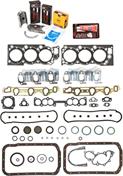 Evergreen Engine Rering Kit FSBRR2030EVE\0\0\0 Fits 88-95 Toyota 4Runner Pickup 3VZE Full Gasket Set Standard Size Piston Rings Standard Size Main Rod Bearings
