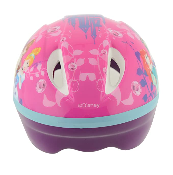 Disney Princess Safety Casco, niña, Rosa, OS: Amazon.es: Deportes y aire libre