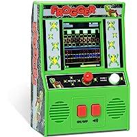 The Bridge Direct Arcade Classics, Juego de máquina pequeño, Frogger, Verde
