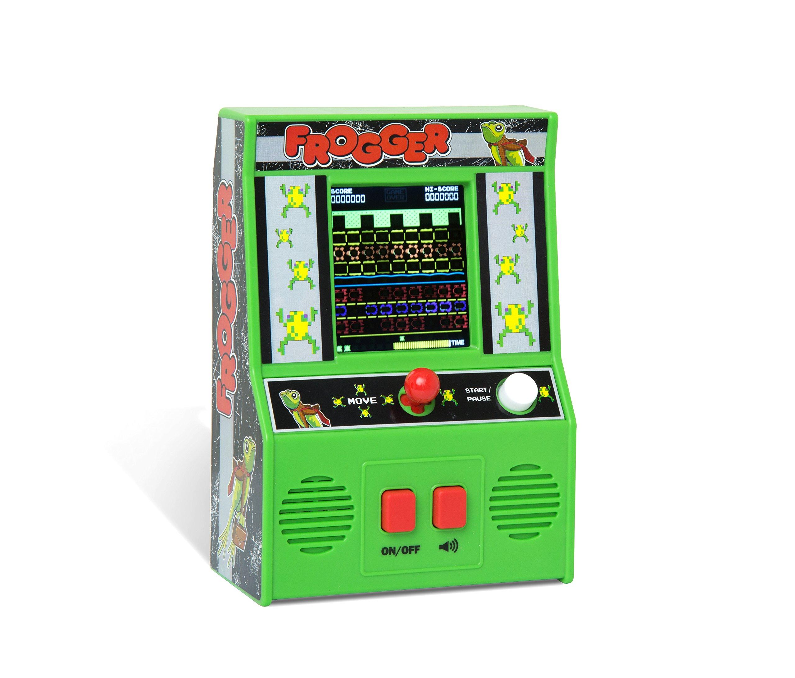 Basic Fun Arcade Classics - Frogger Retro Handheld Arcade Game