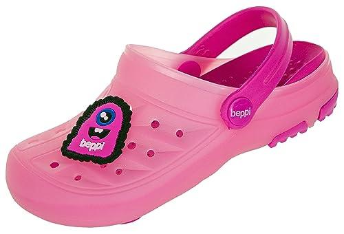 9eee4bfa BEPPI Zuecos Sabots de Material Sintético Niñas: Amazon.es: Zapatos y  complementos