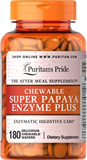 Amazon.com: Puritans Pride Super Strength Multi Enzyme-120 Caplets ...