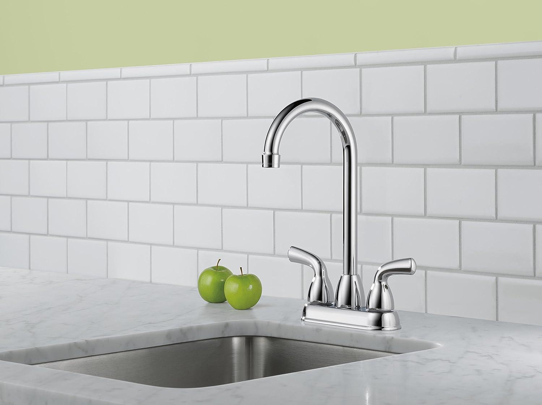 Chrome Delta Foundations B28910LF Bar Prep Faucet