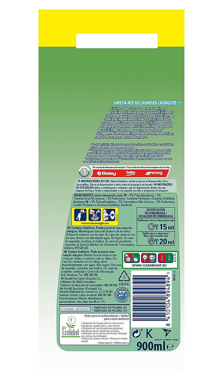 Finish 0% Gel Detergente para Lavavajillas, Certificado Ecológico ...