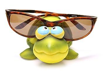 12 7 Cm Funny Kunstharz Schildkröte Brillen