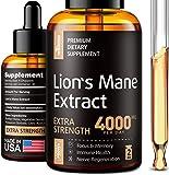 Lion's Mane Extract - Lion's Mane Mushroom Supplement for Immune Support - Lion's Mane Supplement - Formulated in USA - Lion's Mane Mushroom Complex for Mental Health - Liquid Mushroom Supplement