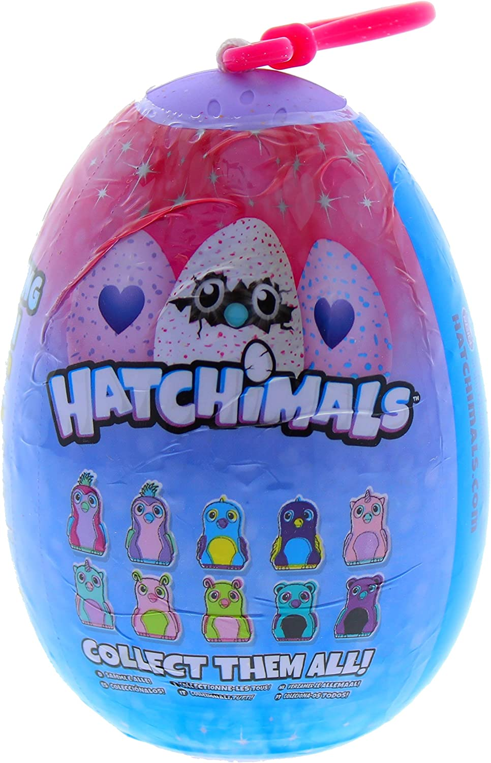 Hatchimals Glittering Garden Plush Clip-On