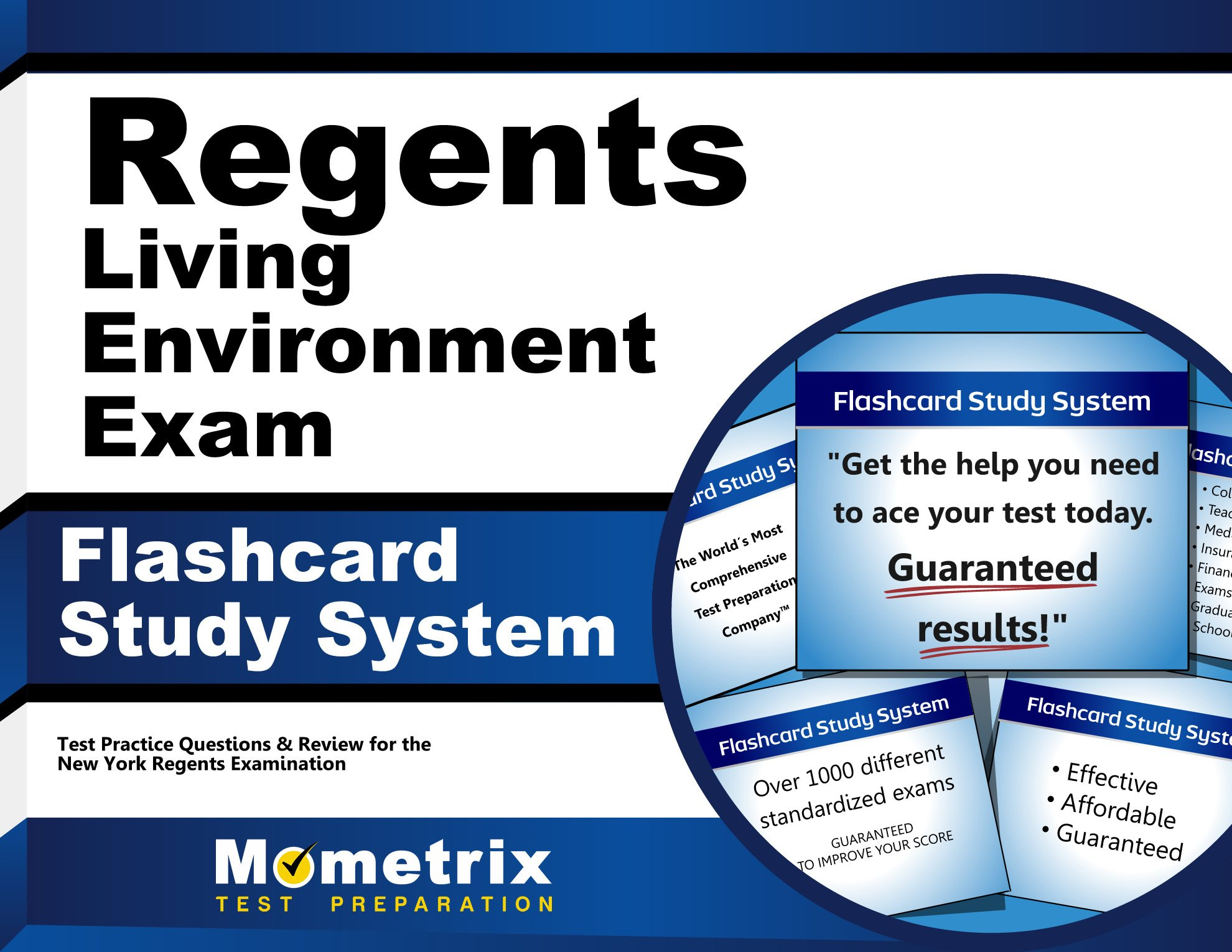 Regents Living Environment Exam Flashcard Study System: Regents Test  Practice Questions & Review for the New York Regents Examinations (Cards): Regents  Exam ...