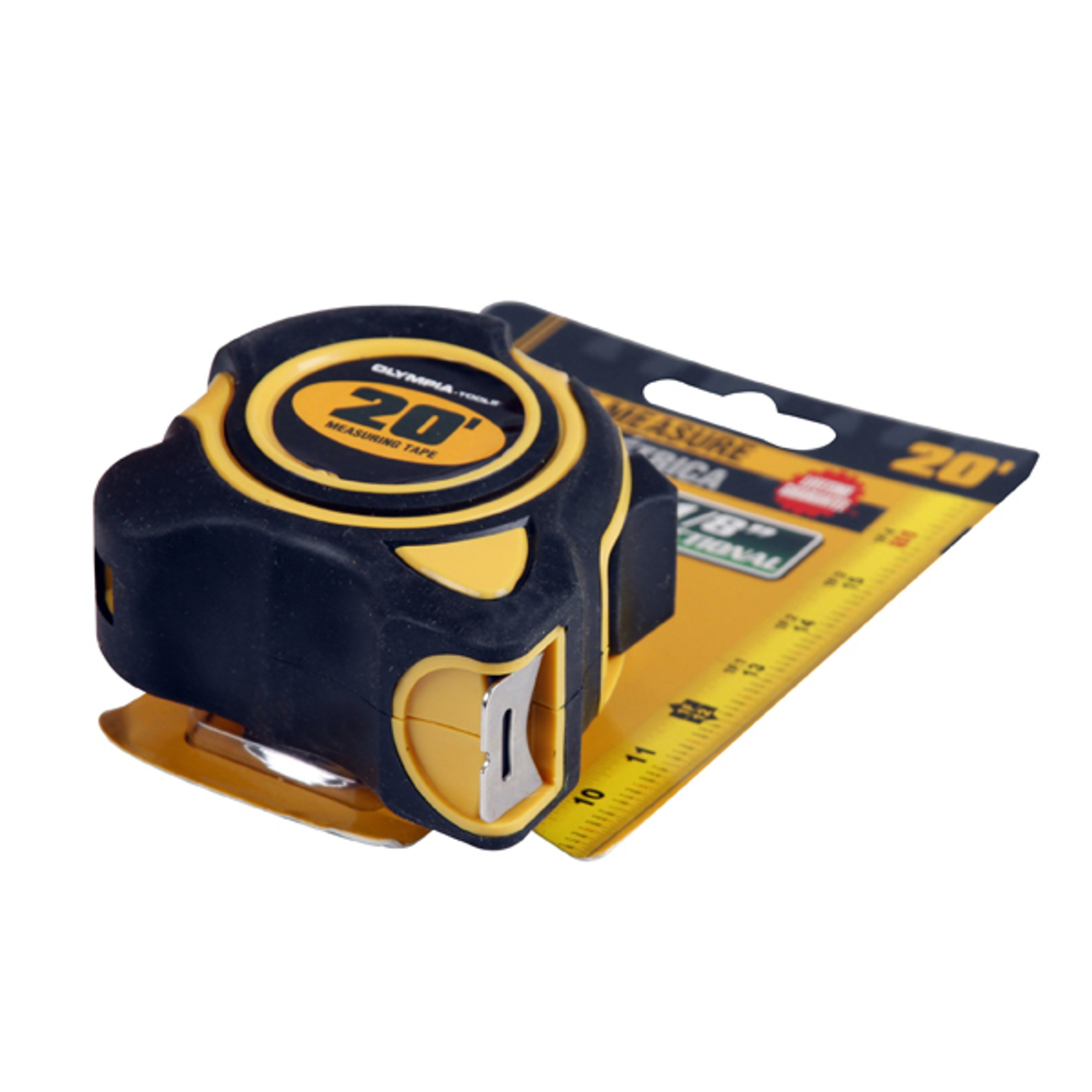 Olympia Tools 43-233 1-Inch by 20-Feet Tape Measure SAE