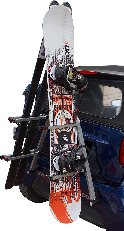 Smart fortwo 450 451 453 Door Bike /& Port for Ski-Snowboard-Rack 4 Smart