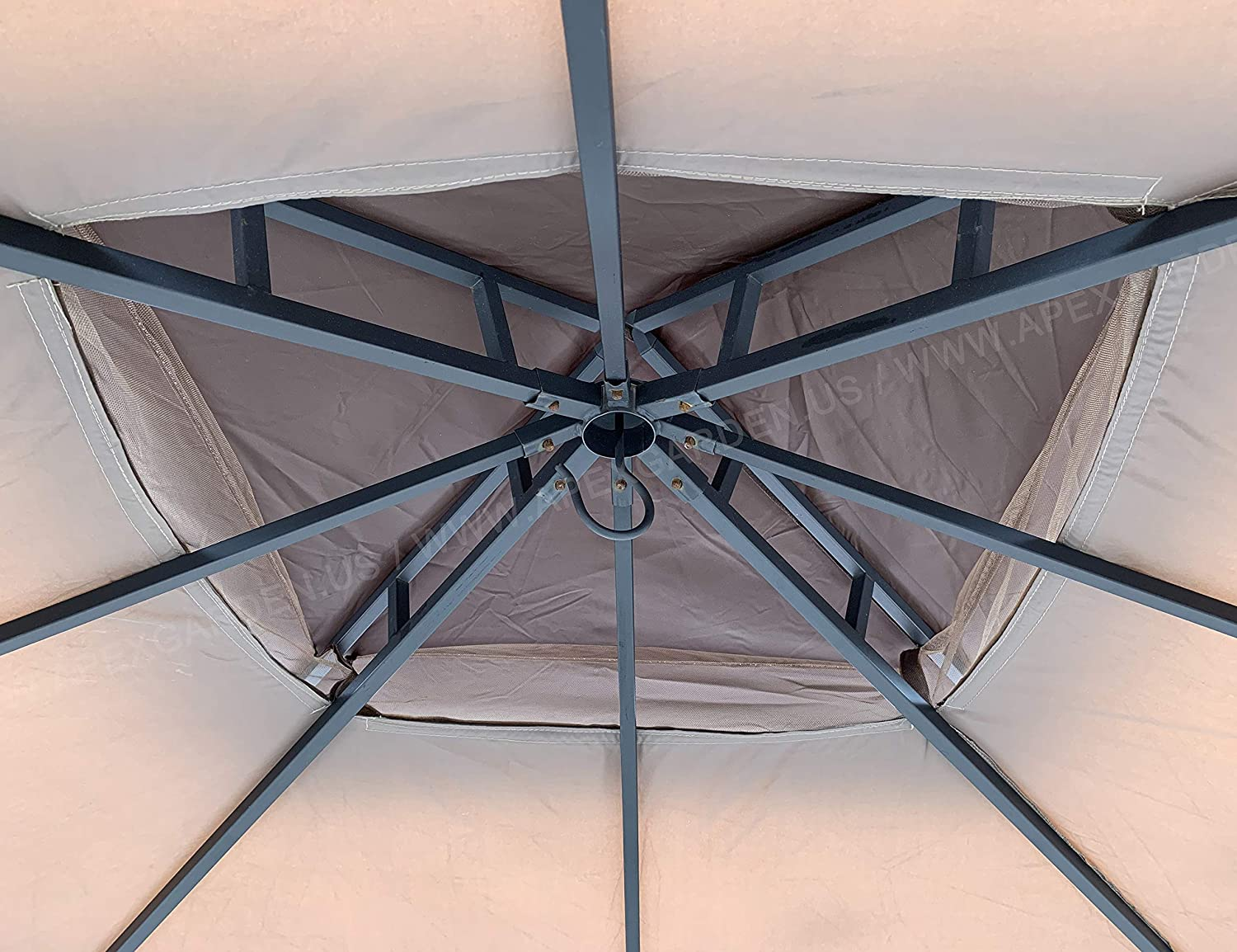 L-GZ375PST-3 APEX GARDEN Replacement Canopy Top for 8 x 8 Gazebo #L-GZ375PST