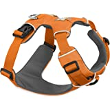 Ruffwear All Day Adventure Dog Harness, Large to Very Large Breeds, Adjustable Fit, Size: Large/X-Large, Orange Poppy, Front Range Harness, 30501-801LL1