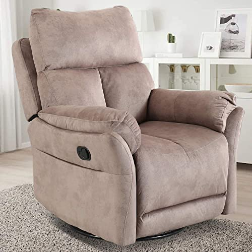 CANMOV Swivel Rocker Recliner Chair