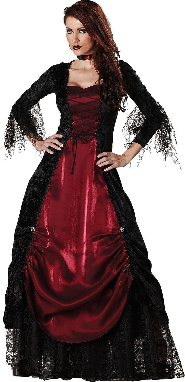 ecd7d9c0e85 Amazon.com  InCharacter Costumes Women s Gothic Vampiress Costume  Clothing
