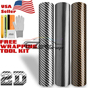 "60/""x72/"" 3D BLACK Carbon Fiber Glitter Sparkle Vinyl Wrap Sticker Decal Sheet"