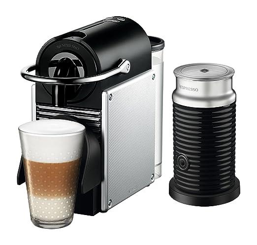 Nespresso Original Espresso máquina Bundle con aeroccino espumador ...