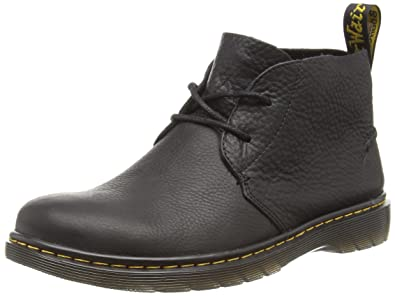 Dr. Martens Men's Ember Grizzly Black Unlined Desert Boots Half Shaft Boots  and Bootees Black