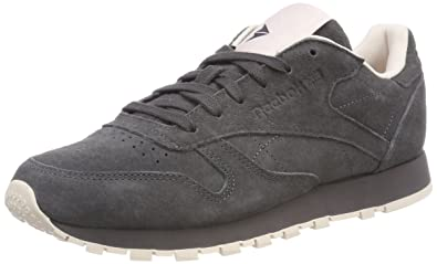 Reebok Damen Classic Leather Tonal NBK Gymnastikschuhe, grau