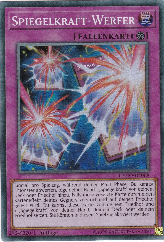 Spiegelkraft-Werfer Auflage 1 Yugioh CYHO-DE069