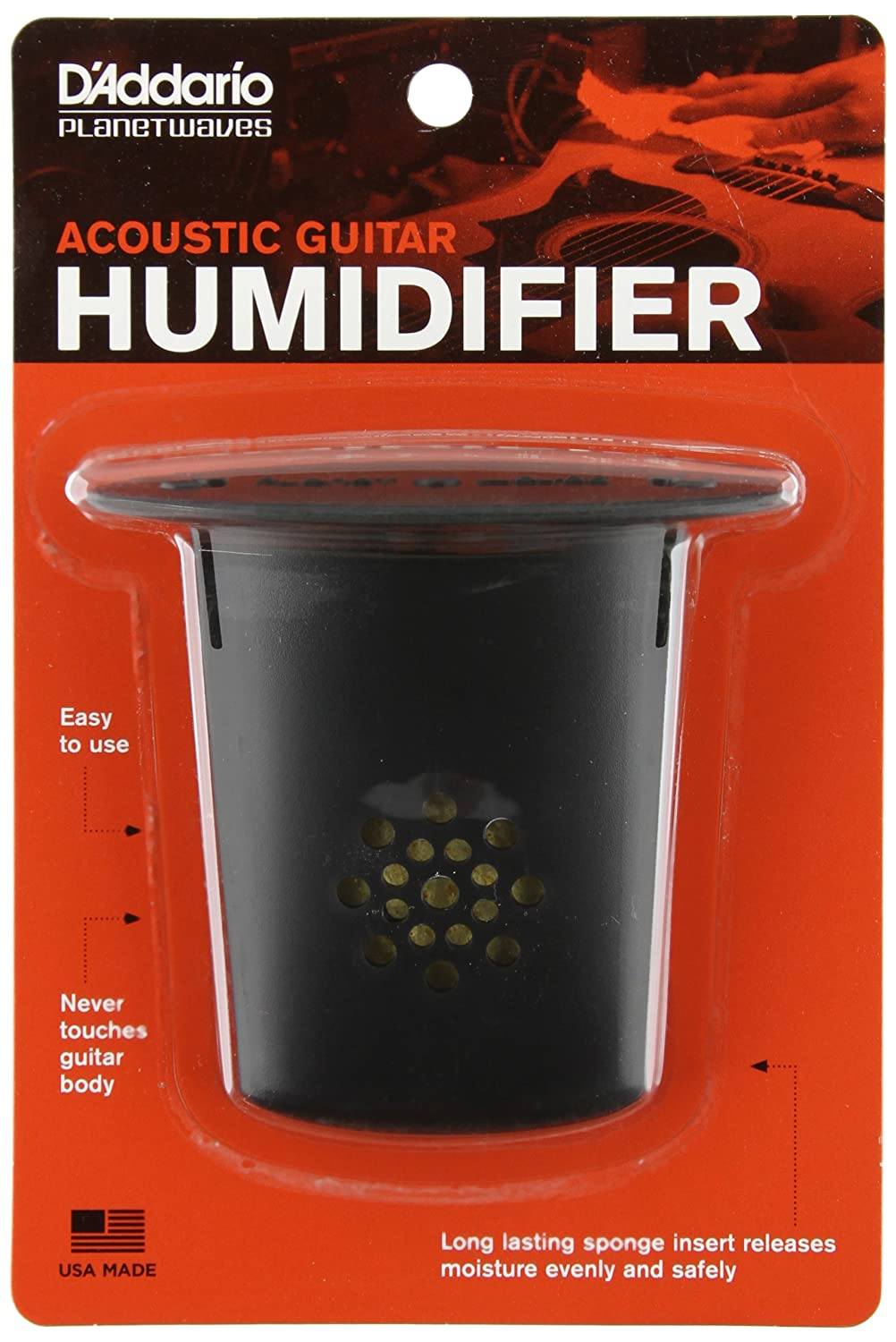 Planet Waves GH D'Addario Acoustic Guitar Humidifier Review