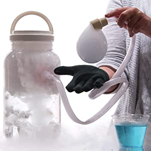 Steve Spangler Science Boo Bubbles – Dry Ice Science Experiment Kit for Kids – Easy and Safe, Makes Super Bouncing Bubbles, Top STEM Learning Kit for Classroom and Home