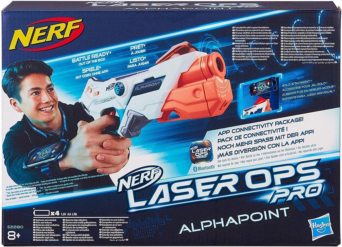 Nerf - Laser Ops Alphapoint (Hasbro E2280EU4) , color/modelo surtido: Amazon.es: Juguetes y juegos