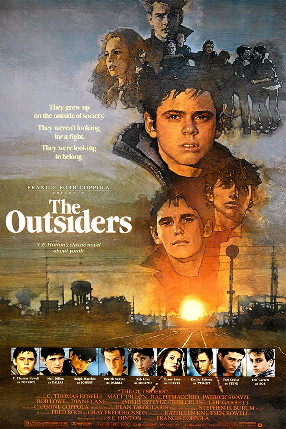 The Outsiders Movie Poster 11x17 inches Style B
