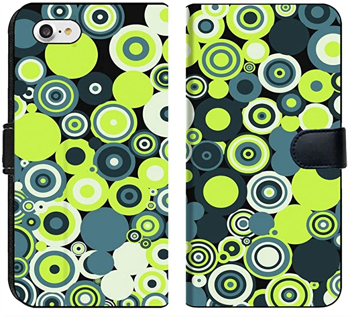 Amazoncom Apple Iphone 8 Flip Fabric Wallet Case Image Of