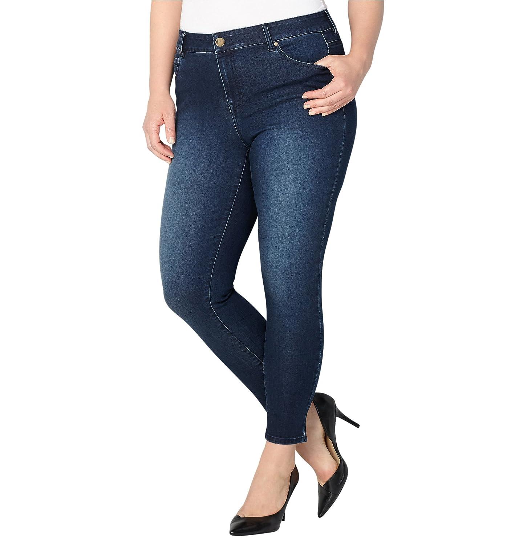 Avenue Women's 1432 Skinny Jean in Dark Wash 210571484