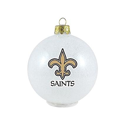 New Orleans Saints Christmas Ornaments.Amazon Com Nfl New Orleans Saints Led Small Ornament