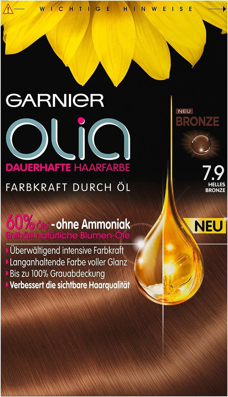 Garnier Olia 7.9 Light Bronze - Tinte permanente para el ...