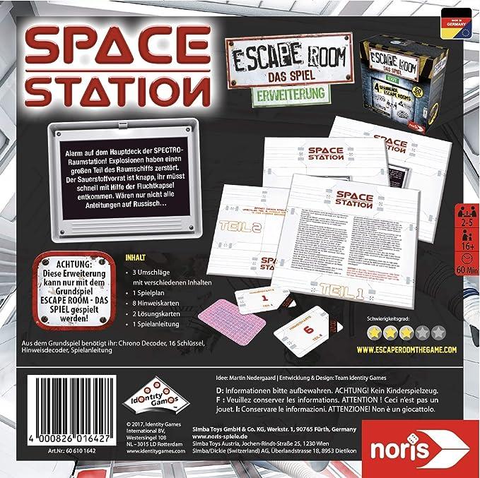 Noris Escape Room Space Station Niños y Adultos Viajes/Aventuras ...
