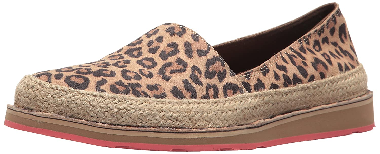 Ariat Women's Cruiser Espadrille Sneaker B07121CL8T 7 B(M) US Cheetah