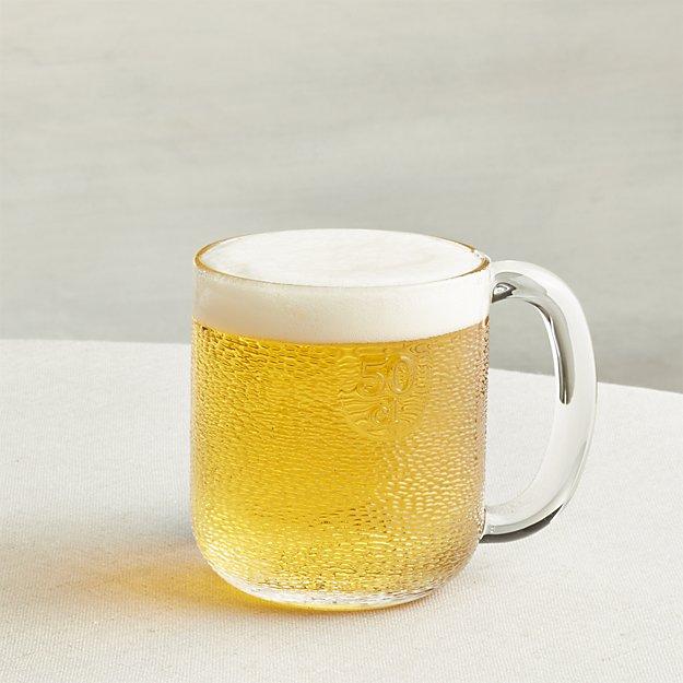 Iittala Krouvi 20 oz. Beer Mug | Crate and Barrel