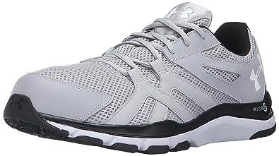 new concept e296c cc421 Under Armour Men s Strive 6-Wide (4E) Sneaker Overcast Gray (942)