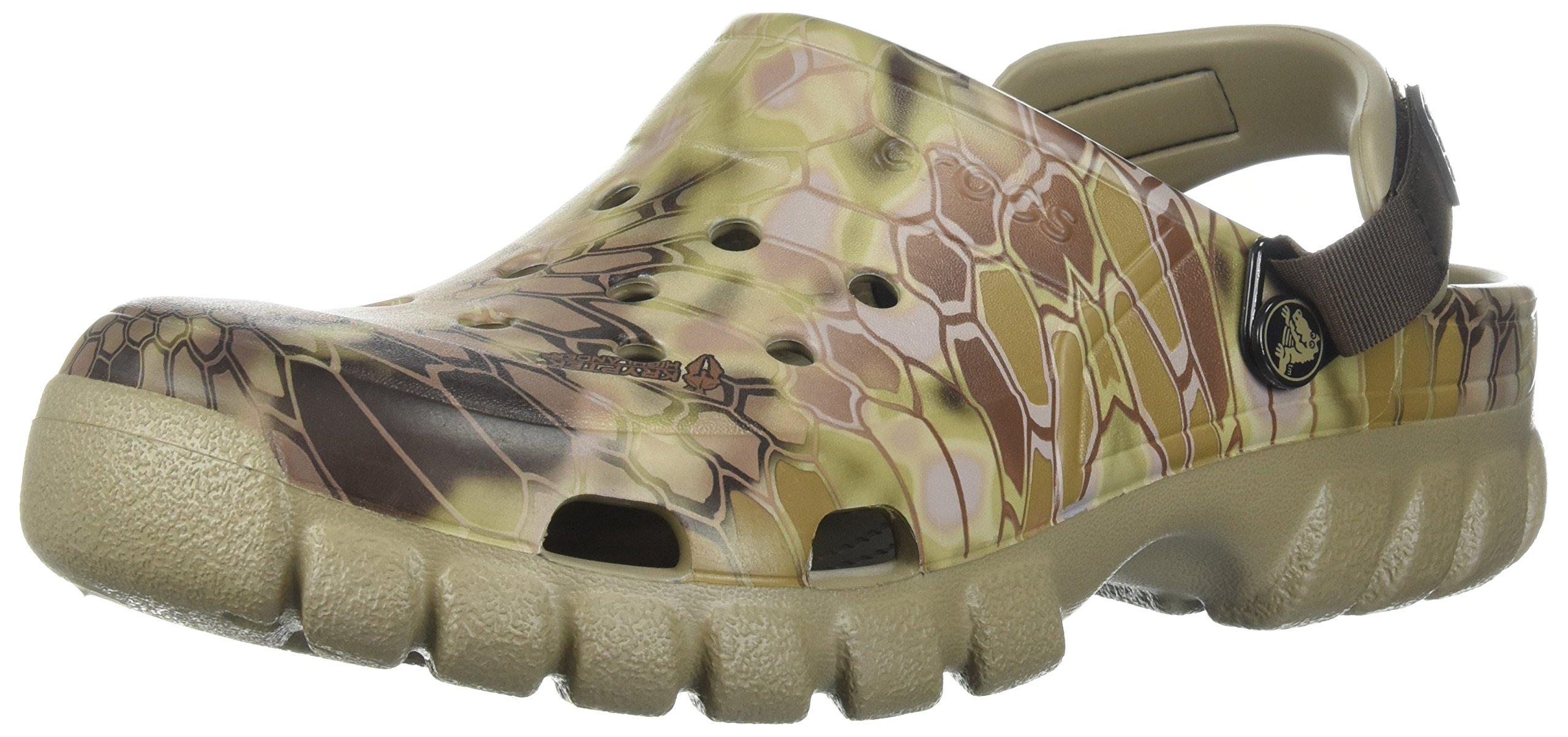 Crocs Or Sport Kryptek Hghlander CLG Clog, Khaki, 10 US Men/12 US Women M US by Crocs