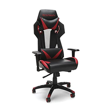 RESPAWN-205 Racing Style Gaming Chair – Ergonomic Performance Mesh Back Chair, Office Or Gaming Chair RSP-205-RED