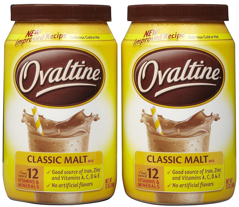 Ovaltine Classic Malt - 12 oz - 2 pk