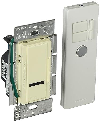 Lutron MIR-600MT-AL Maestro IR 600-Watt Multi-Location Dimmer with on